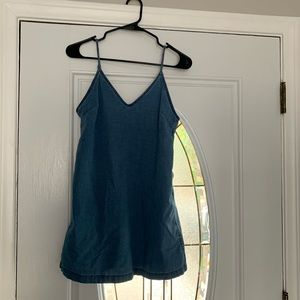 Aritzia Casual Denim Mini Dress size XS